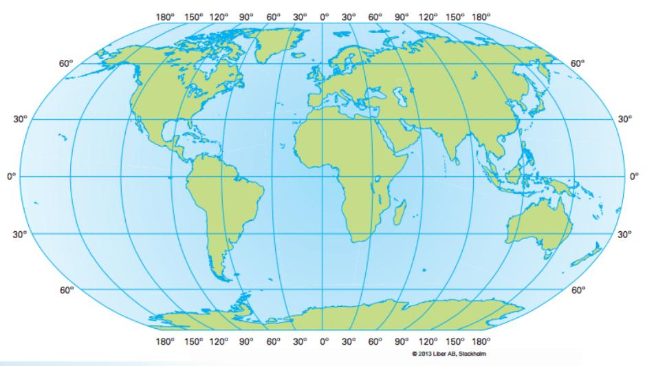 koordinater karta Schoolido | Nationella prov i Geografi, 2013_A koordinater karta